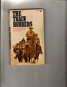 3 Pocket Books The Train Robbers, The Shootist, Ironside JL22