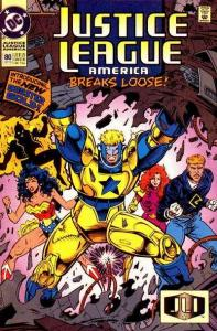 Justice League (1987 series) #80, NM (Stock photo)