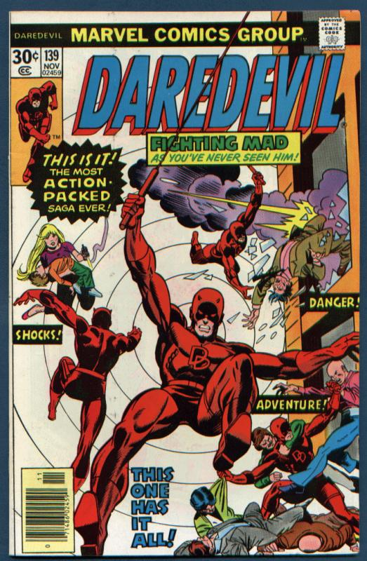 Daredevil #139 NM- 9.2   ORIGINAL OWNER - UNREAD COPY!