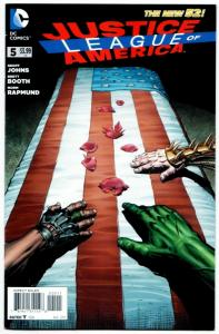 New 52 Justice League of America #5 (DC, 2013) VF/NM