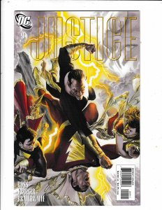 JUSTICE #9  VF/FN  ALEX ROSS ARTWORK.   DC COMICS Save on shipping