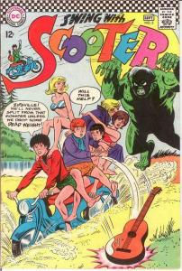 SCOOTER (SWING WITH) 2 VF  September 1966 COMICS BOOK