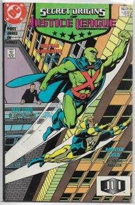Secret Origins (vol. 3, 1986) #35 FN (Justice League International 3) Booster