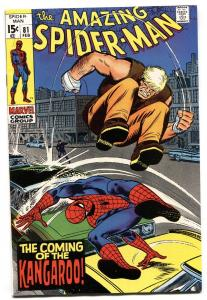 Amazing Spider-Man #81 1970- Kangaroo- Marvel Comics NM-