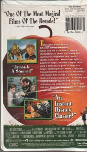 James and The Giant Peach VHS
