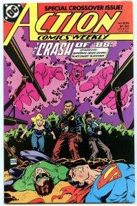 Action Comics Weekly 635 Jan 1988 NM- (9.2)