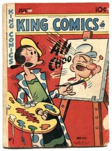 King Comics #135 1947- Popeye - Phantom incomplete