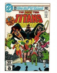 Tales Of The Teen Titans # 1 VF DC Comic Book Robin Raven Beast Boy SR1