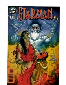 9 Starman DC Comics Comic Books #8 7 6 5 4 3 2 1 0 J394