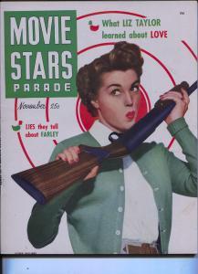 Movie Stars Parade-John Derek-Betty Grable-Nov-1950