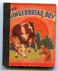 The Gingerbread Boy rare mini book