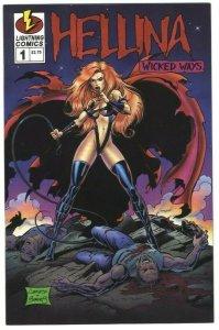Hellina: Wicked Ways #1 - Lightning Comics - November 1995