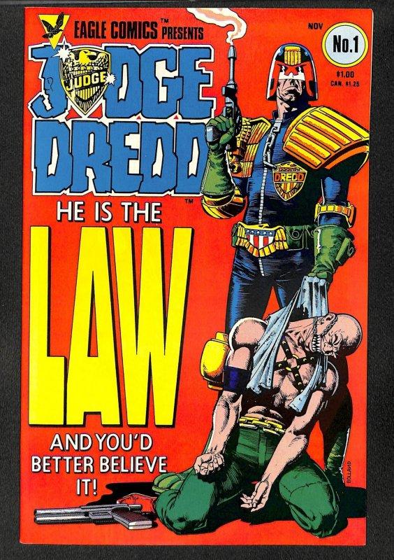 Judge Dredd (GB) #1 (1983)