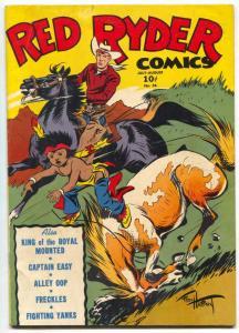 Red Ryder Comics #26 1945- Captain Easy- Alley Oop FN