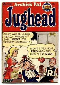 ARCHIE'S PAL JUGHEAD #2 comic book 1950-Golden-Age ARCHIE-BETTY & VERONICA