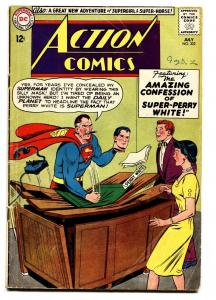 ACTION COMICS #302 comic book DC Jimmy Olsen-Superman!-Silver Age VG