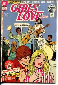 Girls' Love Stories #168 1972-DC-African-Anerican characters-Giant Edition-FN-
