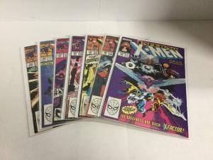 Uncanny X-Men 242 245-249 Lot Vf-Nm Very Fine-Near Mint Marvel Comics