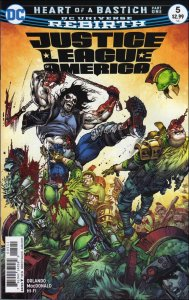 DC JUSTICE LEAGUE OF AMERICA (2017 Series) #5 VF/NM