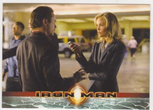 2008 Iron Man Movie Trading Card #6