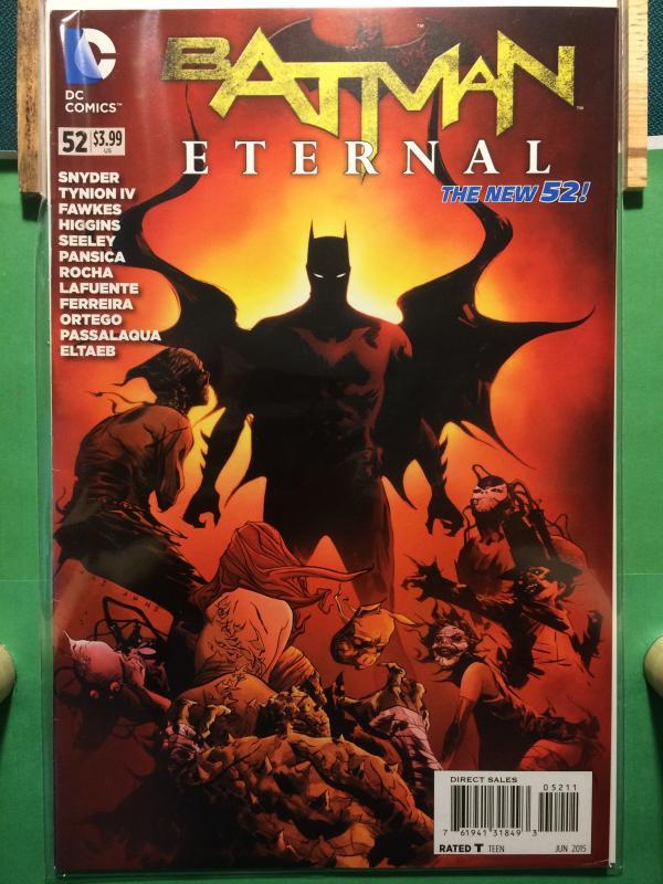 Batman Eternal #52 The New 52