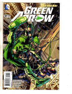 Lot Of 5 Green Arrow DC Comic Books New 52 # 37 38 39 40 41 1st Prints J252