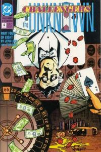 Challengers of the Unknown (1991 series) #4, VF- (Stock photo)