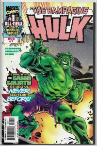 Rampaging Hulk   vol. 1   # 1 VF
