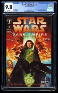 Star Wars: Dark Empire #6 CGC NM/M 9.8 White Pages