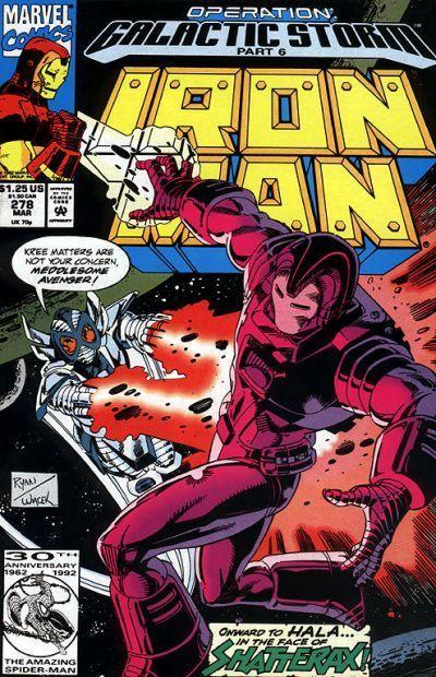 Iron Man (1st Series) #278 FN; Marvel | save on shipping - details inside