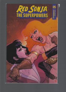 Red Sonja Super Powers #5