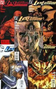LEX LUTHOR MAN OF STEEL (2005) 1-5  Azzarello & Bermejo