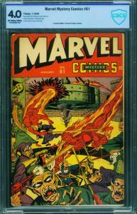 Marvel Mystery Comics #61 CGC 4.0 - Torture cover by ALEX SCHOMBURG