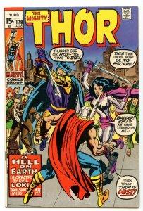 Thor 179 Aug 1970 VF+ (8.5)