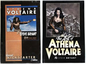 Athena Voltaire Special Kickstarter Edition & Art of Limited Ed. Steve Bryant HC