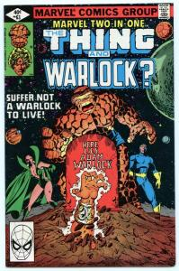 Marvel Two In One 63 May 1980 NM- (9.2)