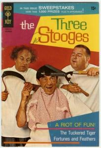 THREE STOOGES (1959-1972 DELL/GK) 45 G-VG photocover: L COMICS BOOK