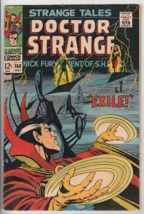 Strange Tales #168 (May-88) FN Mid-Grade Nick Fury, Dr. Strange
