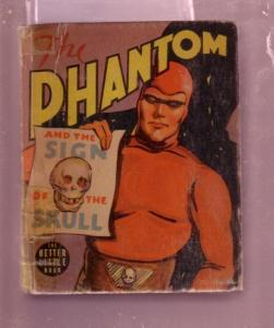 THE PHANTOM SIGN OF THE SKULL LEE FALK #1474 BLB---1939 VG