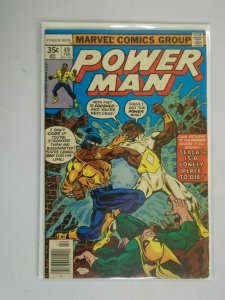 Power Man #49 Last issue as just Power Man 6.0 FN (1978)