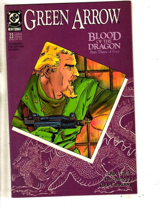 8 Green Arrow DC Comic Books # 18 19 20 21 22 23 24 25 Superman Batman J291