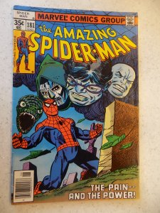 AMAZING SPIDER-MAN # 181 MARVEL ACTION ADVENTURE