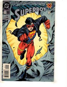 Superboy # 0 NM DC Comic Book King Shark Superman Batman Flash Arrow Atom DB13