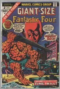FANTASTIC FOUR GS   2 VG Aug. 1974 COMICS BOOK