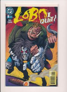 LOBO ... I QUIT! DC Comics ~ VF/NM (HX238)