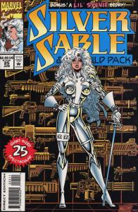 Silver Sable #25 FN; Marvel | save on shipping - details inside