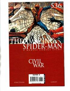Amazing Spider-man #536 - Iron Man - Civil War - 2006 - (-NM)
