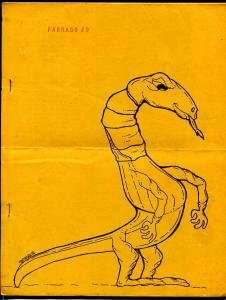 Farrago #9 1978-sci-fi-fantasy-pulps-Bob Dylan-comic back cover-VG