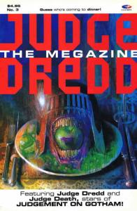 Judge Dredd the Megazine #3 VF/NM; Fleetway Quality | save on shipping - details