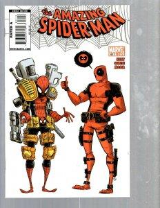 Amazing Spider-Man # 611 NM Marvel Comic Book MJ Vulture Hob-Goblin VENOM TJ1